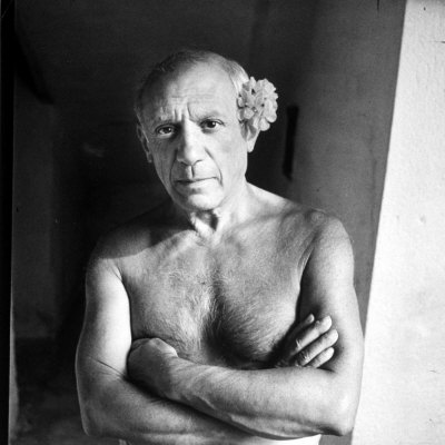 Picasso in 1961