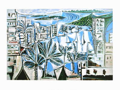 The Bay of Cannes Pablo Picasso buy at art.com