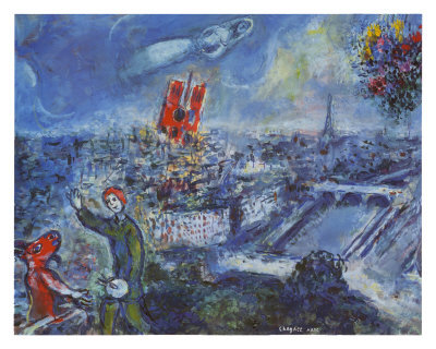 chagall in paris artravelist