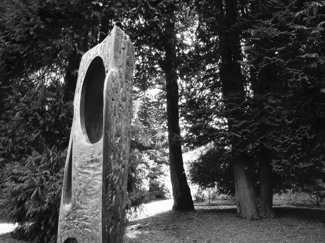 Barbara Hepworth sculpture Edinburgh